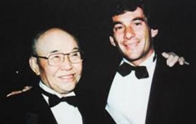 アイルトン・セナと本田宗一郎氏との絆は深かった。