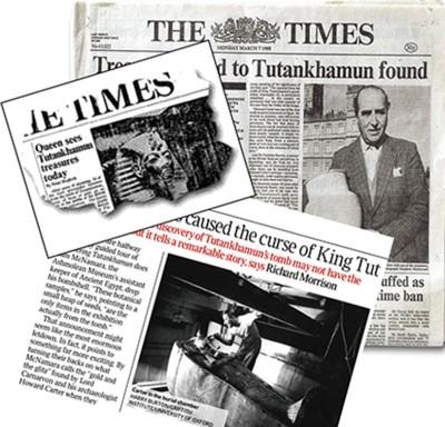 「ザ・タイムズ」紙面